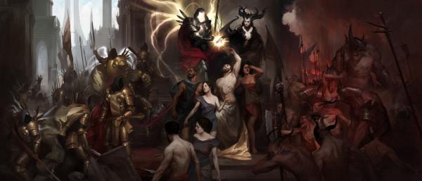 Die Geschichte von Lilith, Inarius und der Erschaffung von Sanktuario