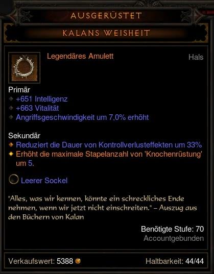 Build Trag Oul Diablo Fan