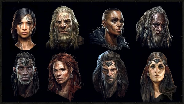 Möglichkeiten der Charakteranpassung in Diablo 4