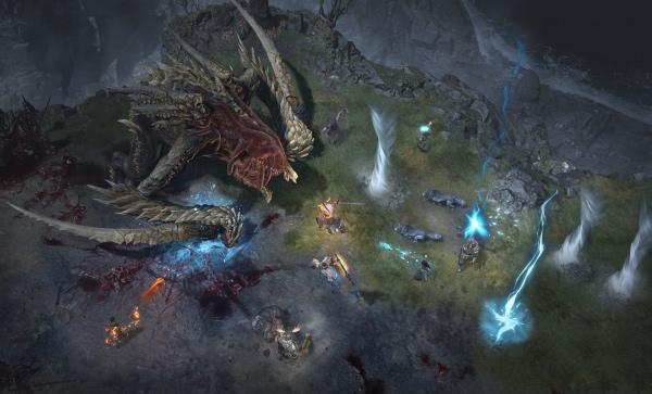 Kampf gegen Ashava, dem ersten Weltboss in Diablo 4