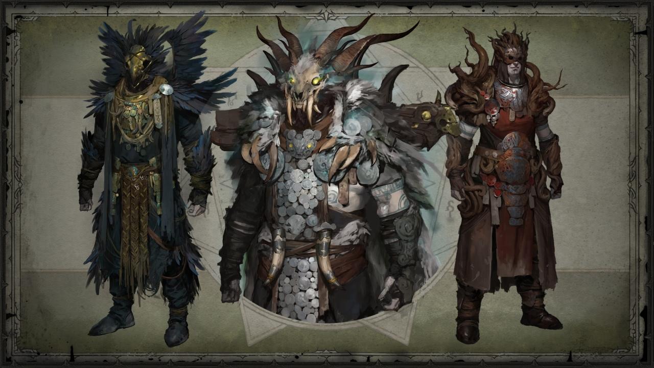 Legendäre Items vom Druiden