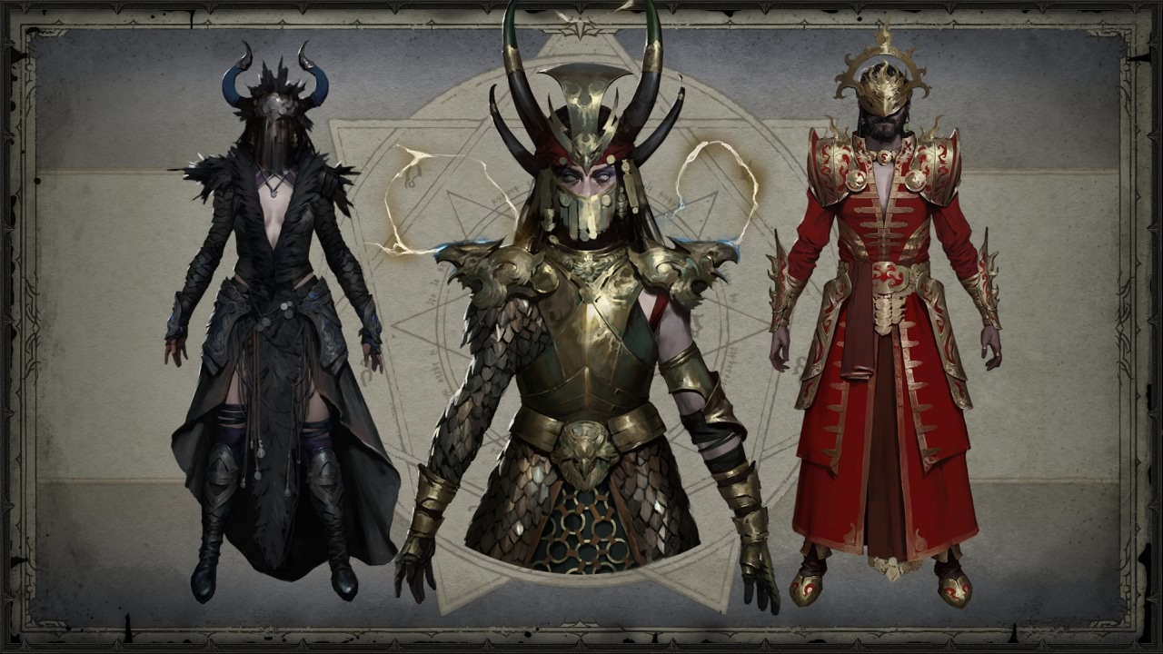 Legendäre Items vom Zauberer