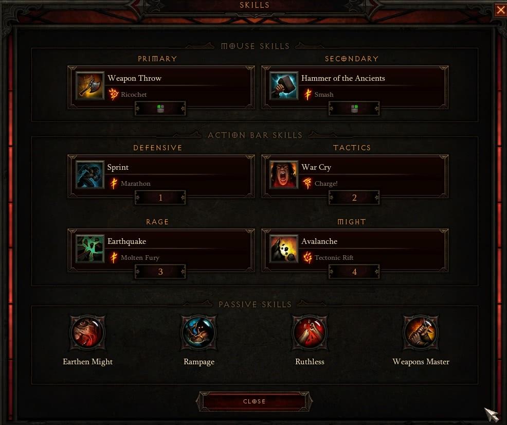 Barbar - Reaper of Souls Skillung und Guide - Diablo 3