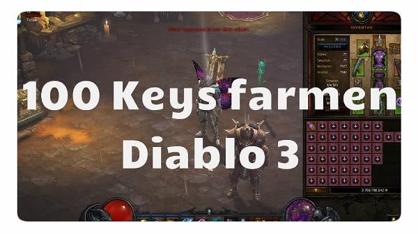 100 Keys farmen