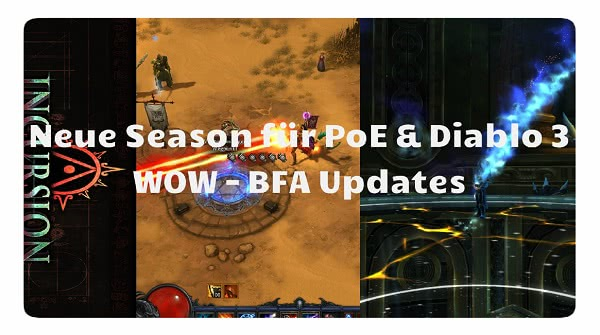 4FF: Neue Season in D3 & PoE