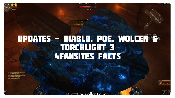 4FF: Season 21, POE, Wolcen & Torchlight 3