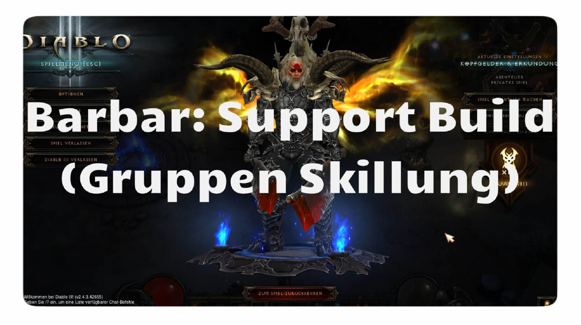 Diablo  Season  Barb Build