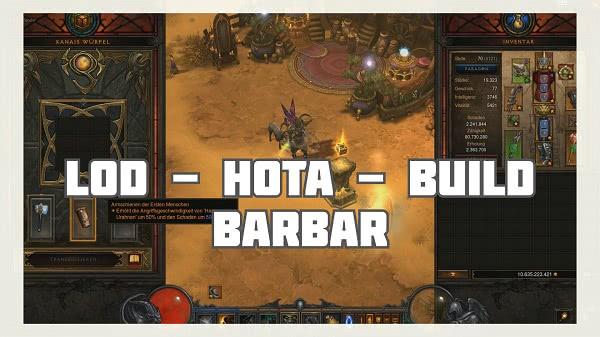 Barbar: LOD Build (Hota)
