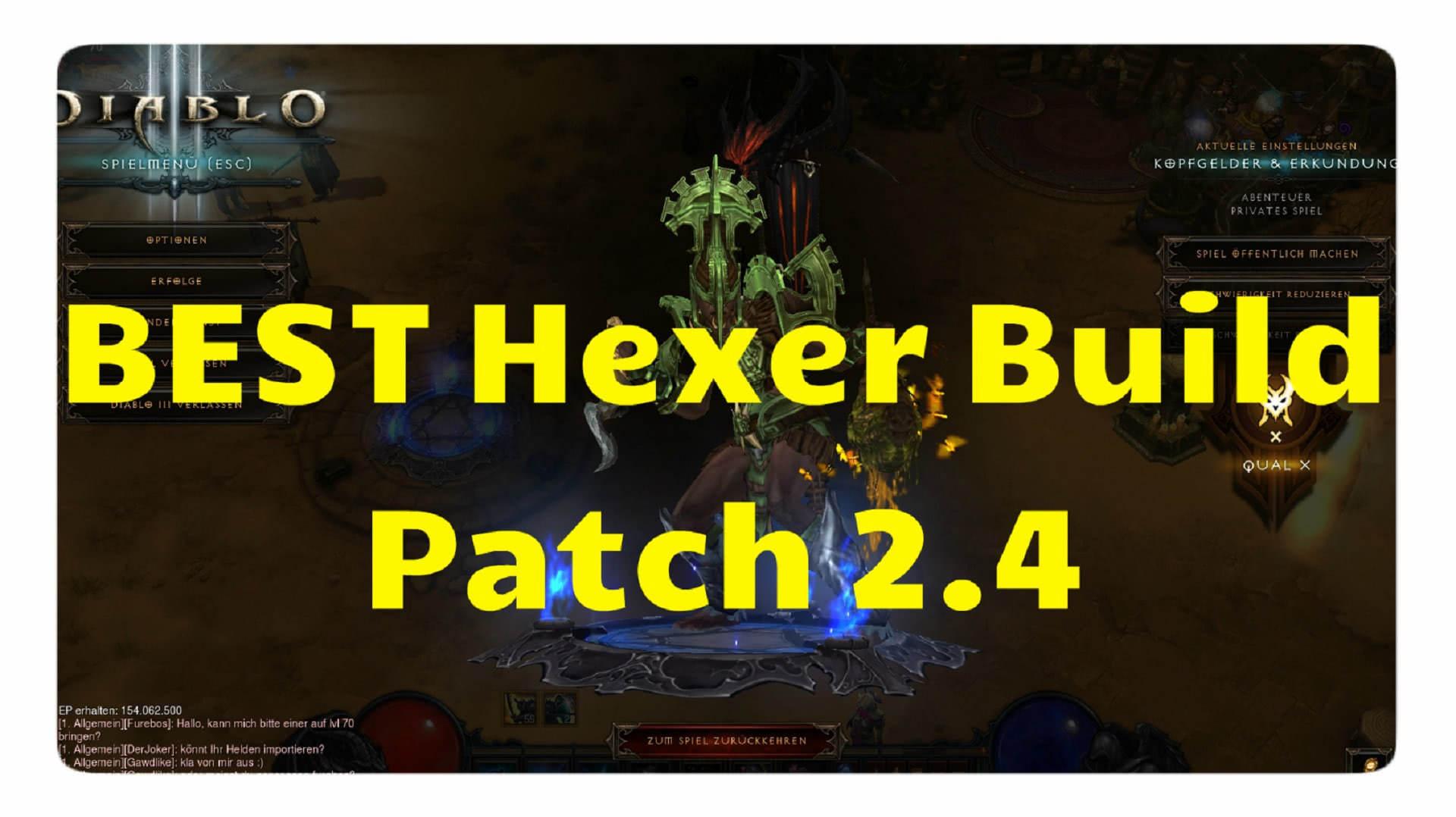 Diablo  Season  Build Hexer