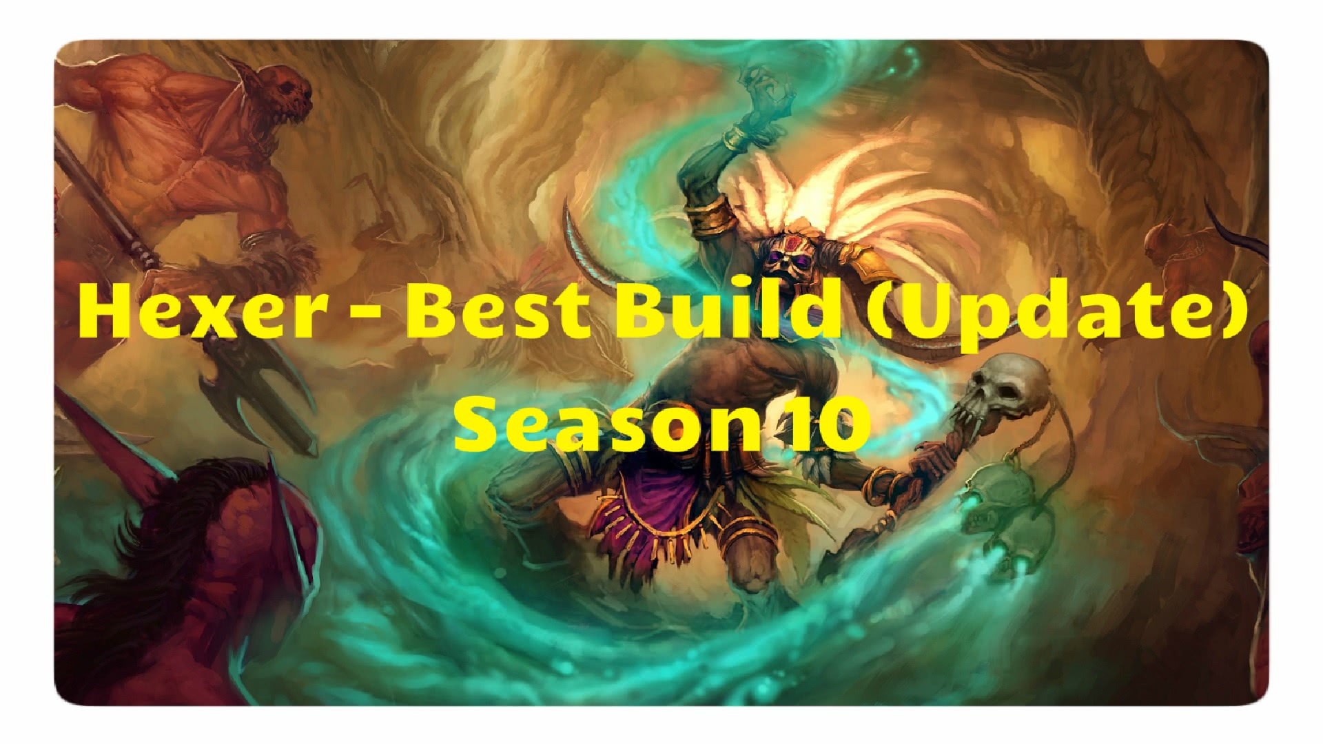Diablo  Season  Bestr Build Zauberer