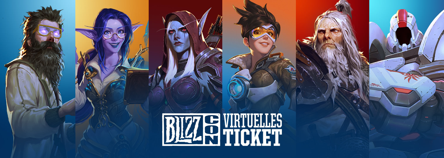 Virtuelles Ticket BlizzCon 2019