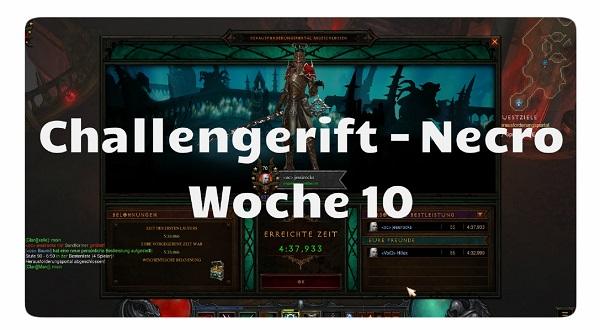 Challenge Rift: Woche 10 (Necro)
