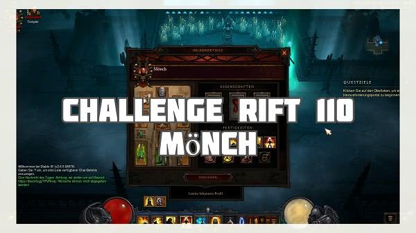 Challenge Rift mit dem Mönch