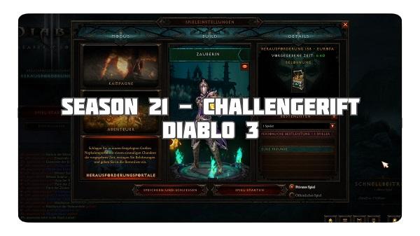 Challenge Rift zum Seasonstart von S21