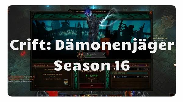 Challenge Rift: Season 16 (Dämonenjäger)