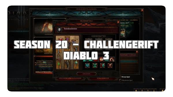 Challenge Rift zum Seasonstart von S20