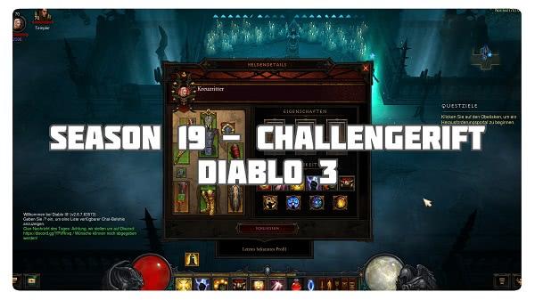 Challenge Rift zum Seasonstart von S19