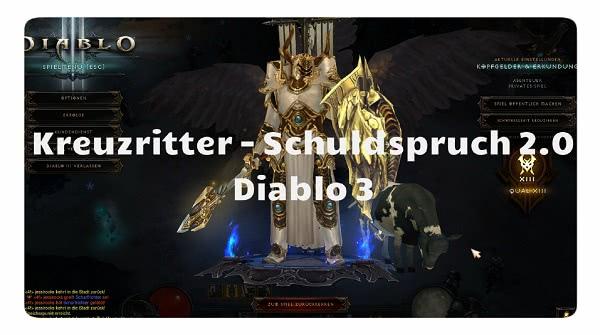 Diablo  Crusader Build For Fanssite