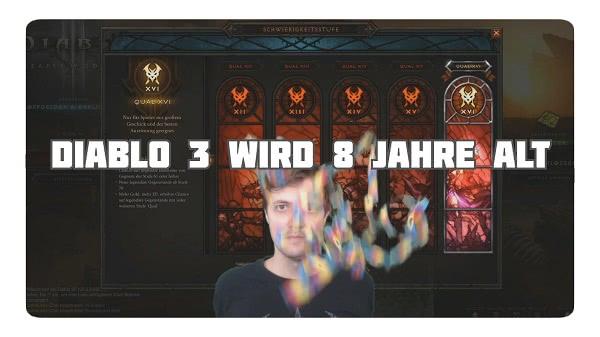Diablo 3 wird 8 Jahre alt