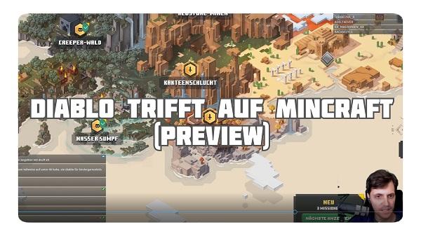 Diablo trifft auf Minecraft