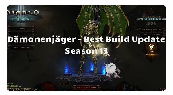 Dämonenjäger: Der beste Build für Season 13