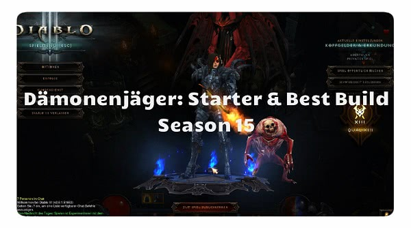 Dämonenjäger: Best Build & Starter Build
