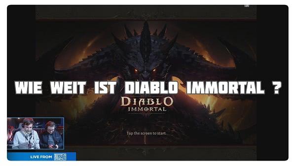 Wie weit ist Diablo Immortal?