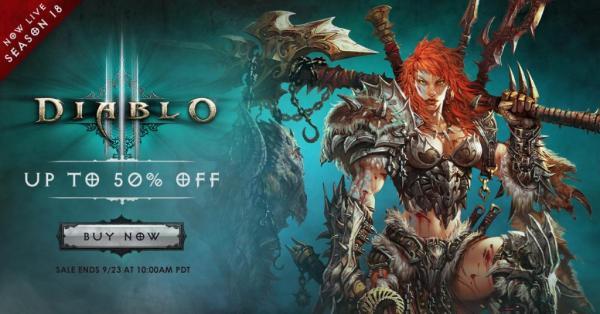 Sonderangebot für Diablo 3