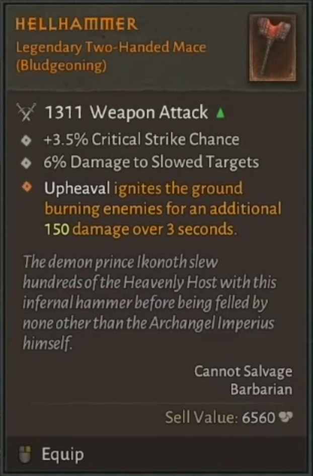 Alle Legendären Items aus der Diablo 4 Demo im Überblick