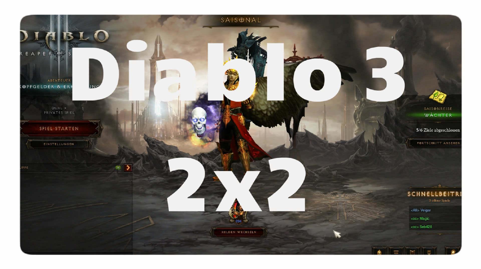 Das Diablo 1x1