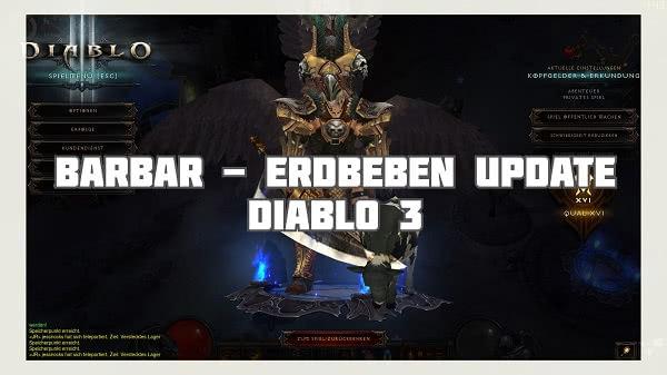 Barbar: Erdbeben Build (Update)