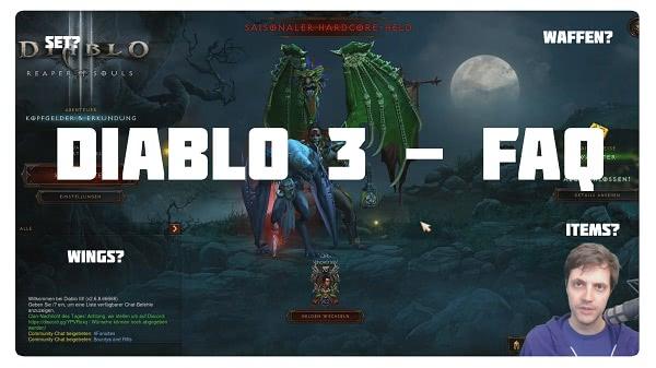 FAQ - Die häufigsten Fragen aus Diablo 3