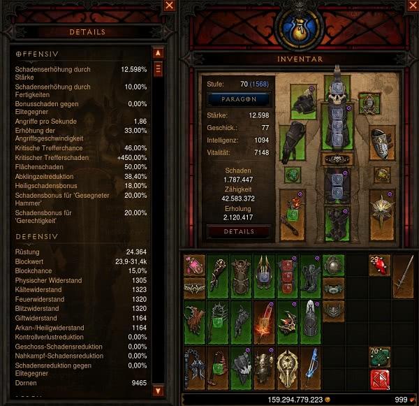 Diablo  Kreuzritter Hammer Build
