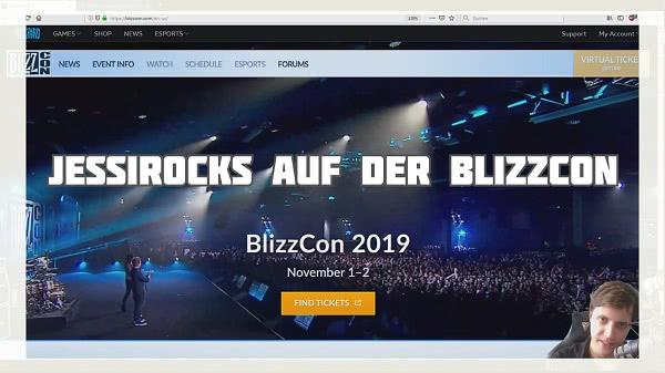 Jessirocks auf der Blizzcon 2019