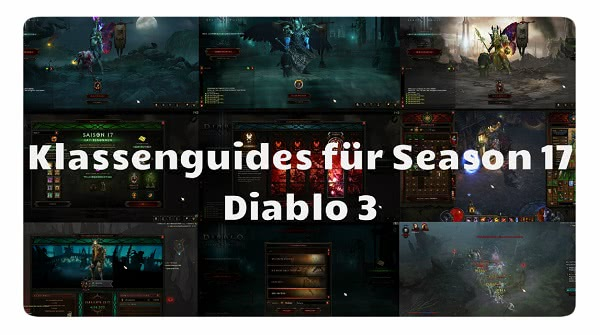 D3 Klassenguides für Season 17 & Patch 2.6.5
