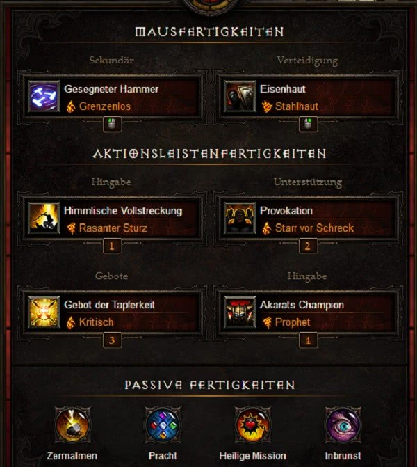 Hammerdin Diablo  Build