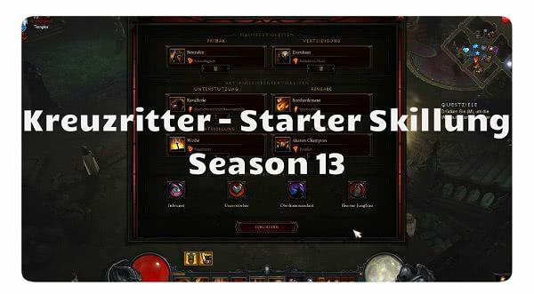 Kreuzritter: Season 13 Starter Build