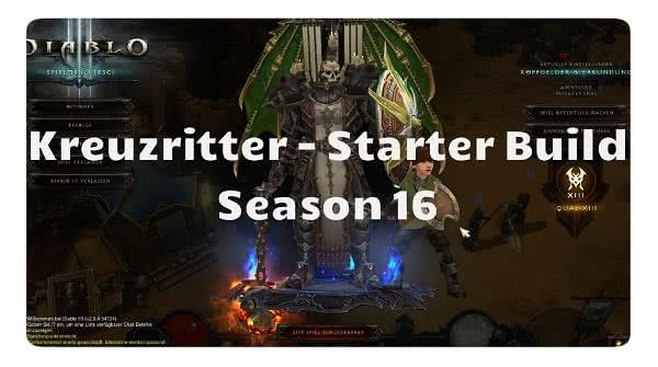 Kreuzritter: Season 16 Starter Build
