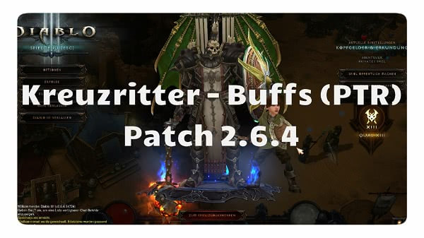 Patch 2.6.4: Kreuzritter Buffs
