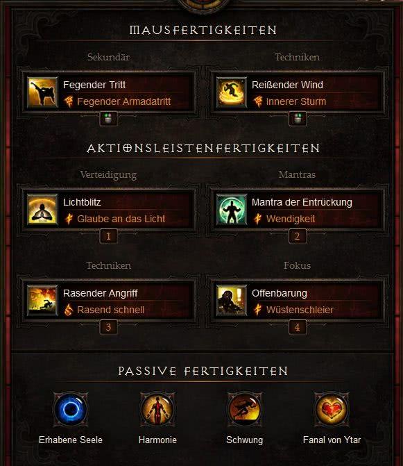 Diablo 3 Mönch Build