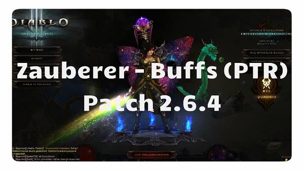 Patch 2.6.4: Zauberer Buffs