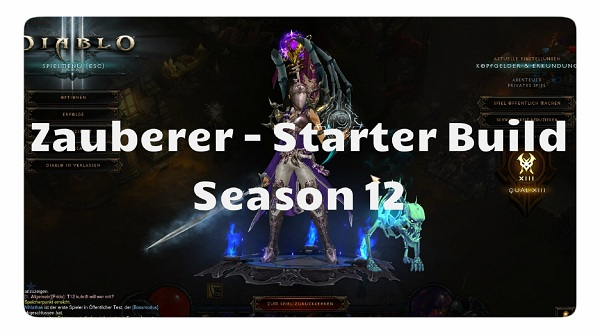 Season  Mage Starter Build