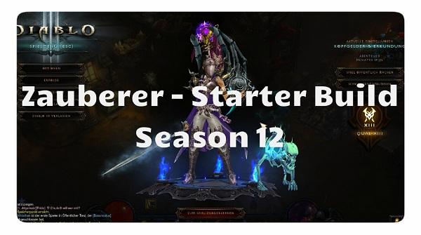 Zauberer: Season 12 Starter Build