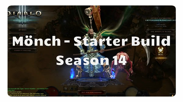 Mönch: Starter Build Season 14