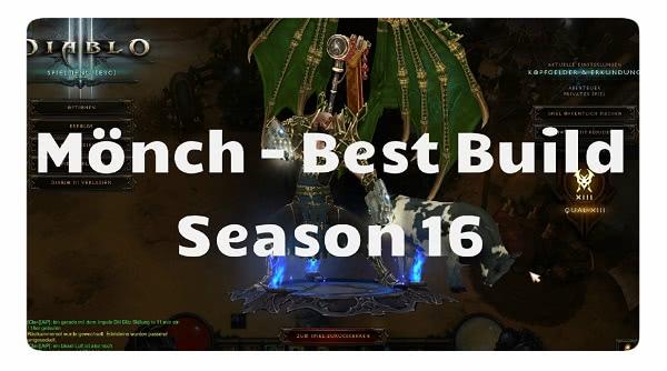Mönch: Best Build für Season 16