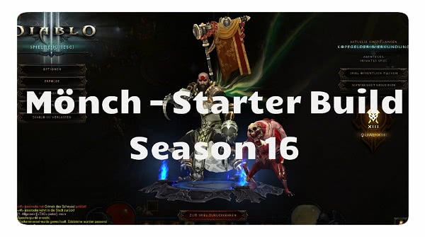 Mönch: Season 16 Starter Build