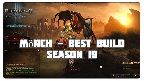 Mönch: Best Build für Season 19