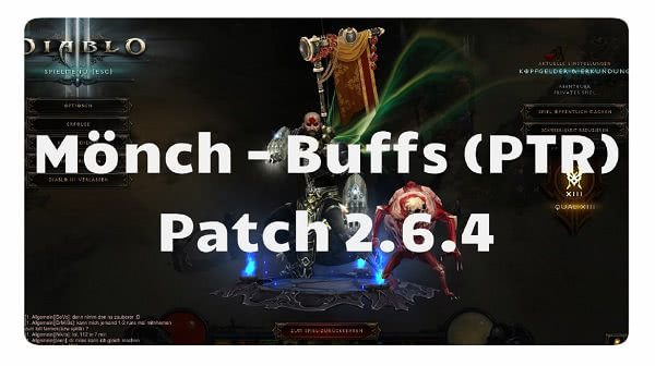 Patch 2.6.4: Mönch Buffs