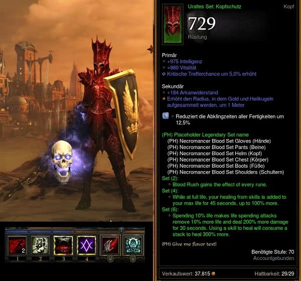 Diablo  Necro Support Build