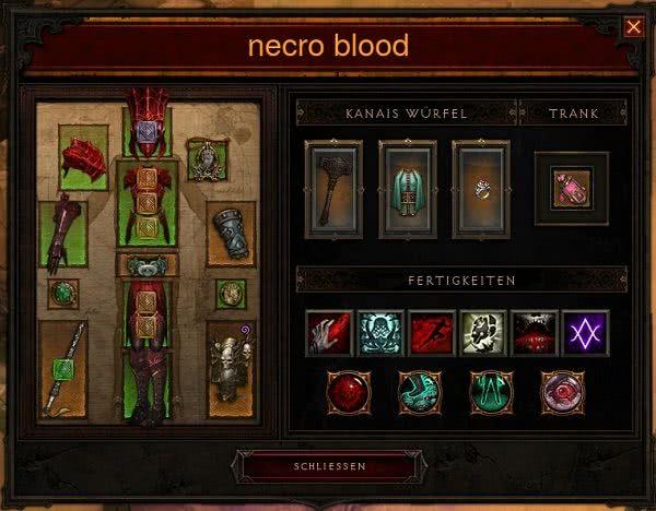 Diablo Necro Saint Build